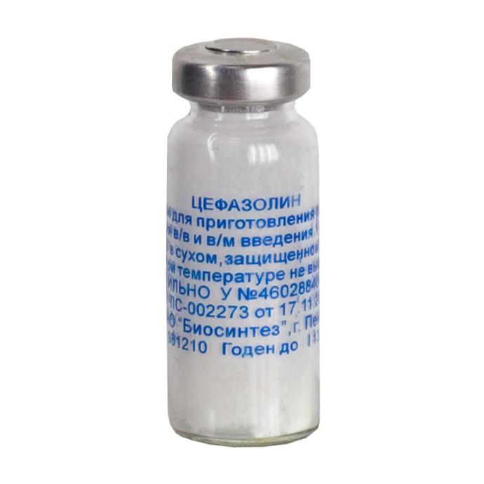 Цефазолин при цистите