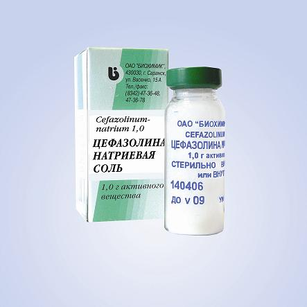 Аналоги цефазолина